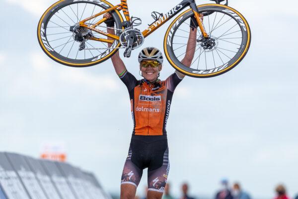 Anna van der Breggen NK vrouwen profs2020