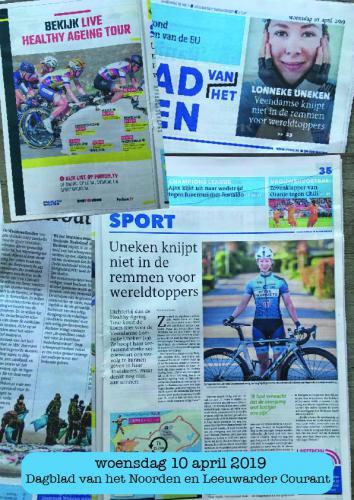 Dagblad van het Noorden en Leeuwarder Courant 10-04-2019